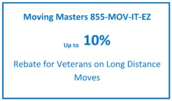 Veteran Moving Coupon