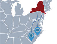 Moving From New York to North or South Carolina
