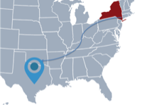 Moving From New York to Texas